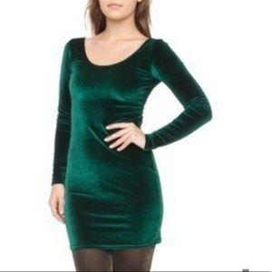 American Apparel Velvet Mini Dress Size M